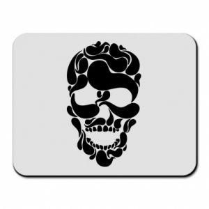 Mouse pad Skull brush