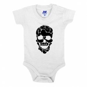 Baby bodysuit Skull brush