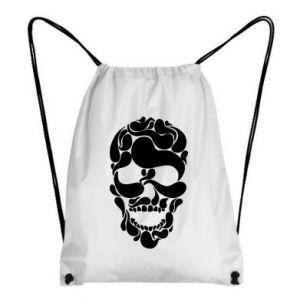 Backpack-bag Skull brush