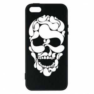 Phone case for iPhone 5/5S/SE Skull brush