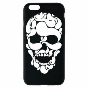 Phone case for iPhone 6/6S Skull brush