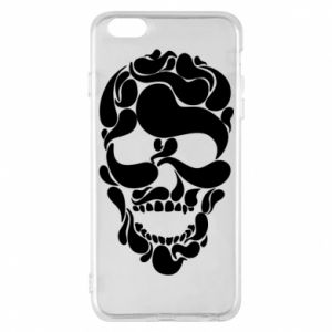 Phone case for iPhone 6 Plus/6S Plus Skull brush