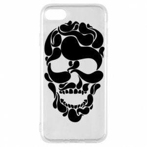 Phone case for iPhone 7 Skull brush