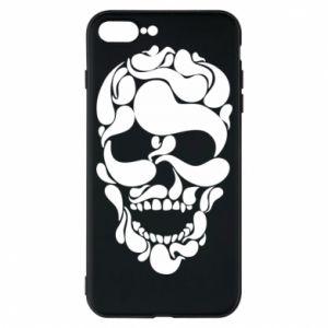 Phone case for iPhone 7 Plus Skull brush