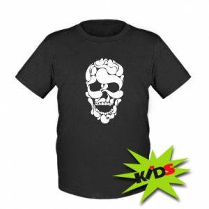 Koszulka dziecięca Skull brush