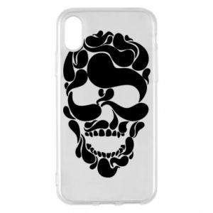 Phone case for iPhone X/Xs Skull brush