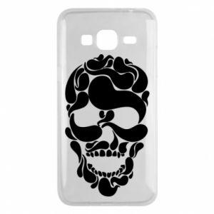 Phone case for Samsung J3 2016 Skull brush