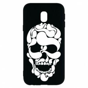 Phone case for Samsung J3 2017 Skull brush