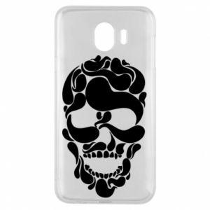 Phone case for Samsung J4 Skull brush