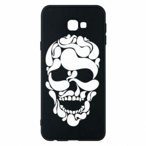 Phone case for Samsung J4 Plus 2018 Skull brush