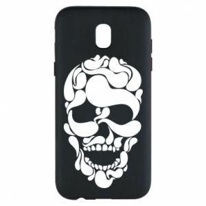 Phone case for Samsung J5 2017 Skull brush