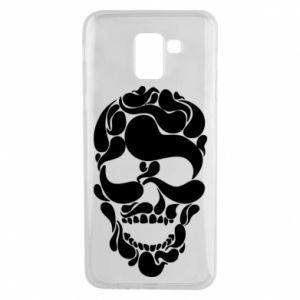 Phone case for Samsung J6 Skull brush