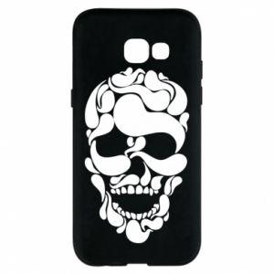 Phone case for Samsung A5 2017 Skull brush