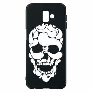 Phone case for Samsung J6 Plus 2018 Skull brush
