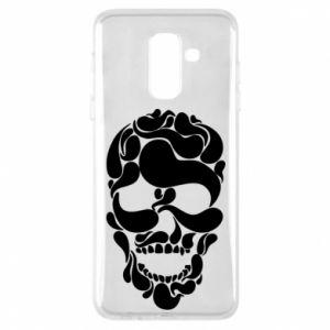 Phone case for Samsung A6+ 2018 Skull brush