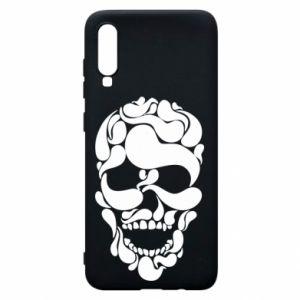 Phone case for Samsung A70 Skull brush