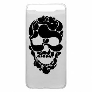 Phone case for Samsung A80 Skull brush