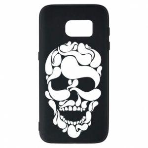 Phone case for Samsung S7 Skull brush