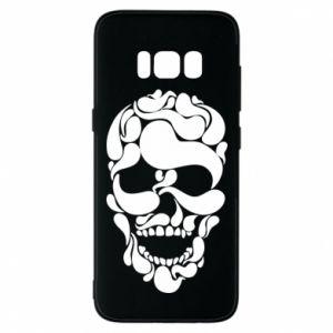 Phone case for Samsung S8 Skull brush