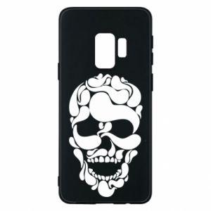 Phone case for Samsung S9 Skull brush