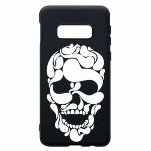 Phone case for Samsung S10e Skull brush