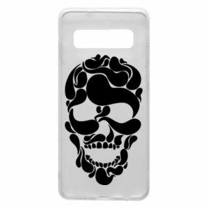 Phone case for Samsung S10 Skull brush