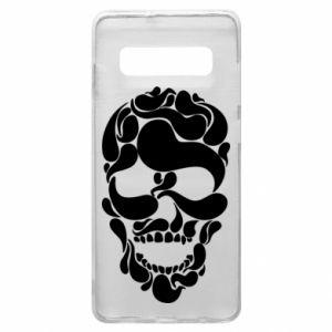 Phone case for Samsung S10+ Skull brush