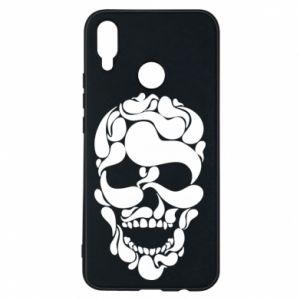Phone case for Huawei P Smart Plus Skull brush