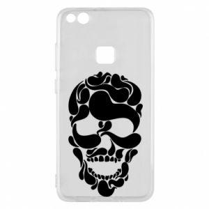 Phone case for Huawei P10 Lite Skull brush