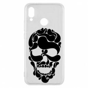 Phone case for Huawei P20 Lite Skull brush