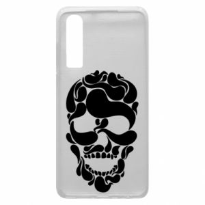 Phone case for Huawei P30 Skull brush