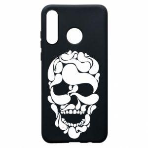 Phone case for Huawei P30 Lite Skull brush