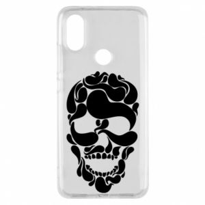 Phone case for Xiaomi Mi A2 Skull brush