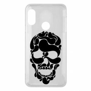 Phone case for Mi A2 Lite Skull brush
