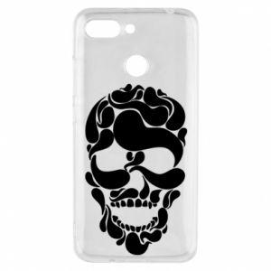 Phone case for Xiaomi Redmi 6 Skull brush