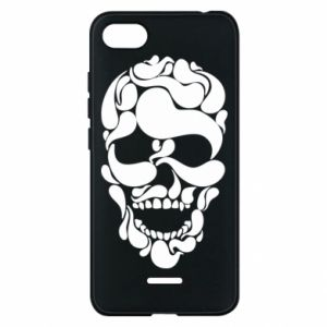 Phone case for Xiaomi Redmi 6A Skull brush
