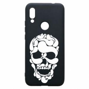 Phone case for Xiaomi Redmi 7 Skull brush