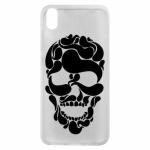 Phone case for Xiaomi Redmi 7A Skull brush