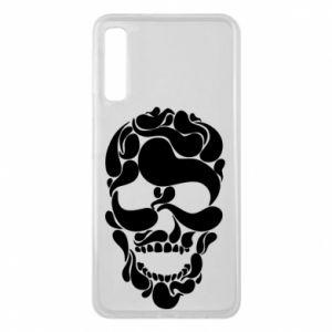 Phone case for Samsung A7 2018 Skull brush