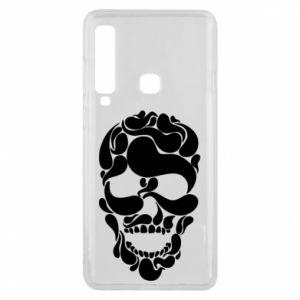 Phone case for Samsung A9 2018 Skull brush
