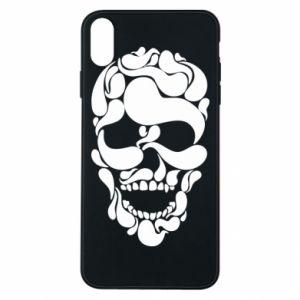 Phone case for iPhone Xs Max Skull brush