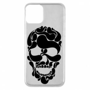 Phone case for iPhone 11 Skull brush