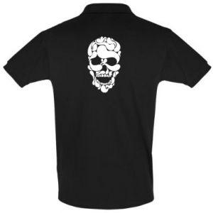 Men's Polo shirt Skull brush