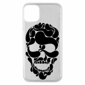 Phone case for iPhone 11 Pro Skull brush