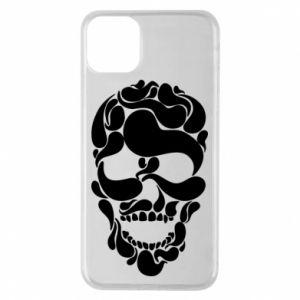Phone case for iPhone 11 Pro Max Skull brush