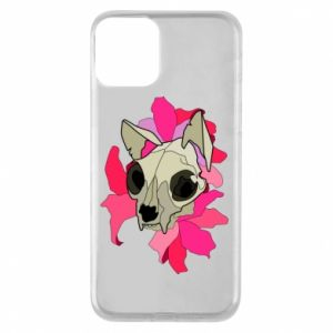 Etui na iPhone 11 Skull of a cat