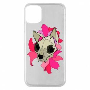Etui na iPhone 11 Pro Skull of a cat