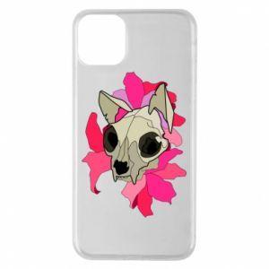 Etui na iPhone 11 Pro Max Skull of a cat