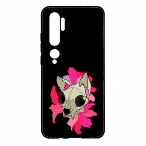 Etui na Xiaomi Mi Note 10 Skull of a cat