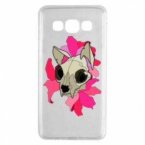 Etui na Samsung A3 2015 Skull of a cat